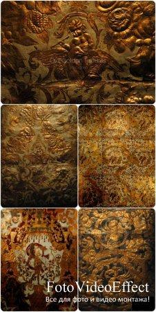 Old golden Textures