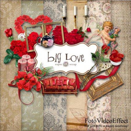 Scrap-set - Big Love