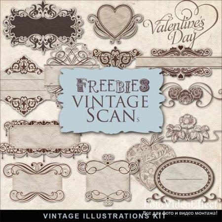 Scrap-kit - Vintage Lables