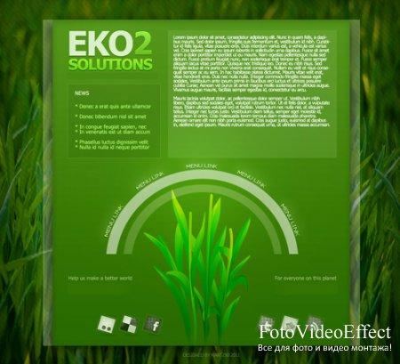 Eko Solutions 2 PSD Web Template
