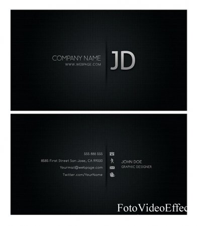 Cool Business Card Templates Psd Layered Material