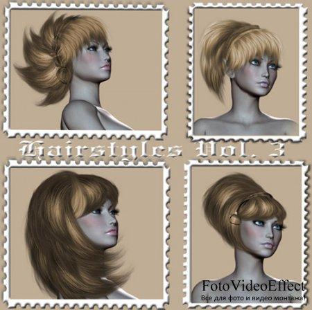 Set of Hairstyles Vol. 3
