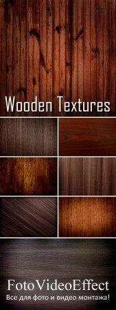 Stock Photo - Dark Wood Textures