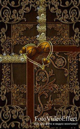 Graceful carved frames