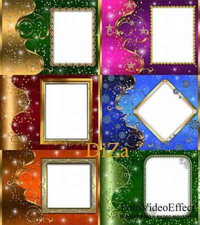 Set of Decorative Frames For Your Photo