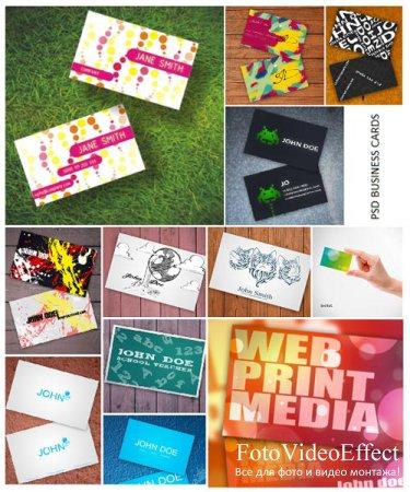43 Photoshop Business Card Templates