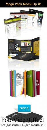 PSD Templates - 4 Mockup Sets