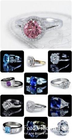 Клипарт - Кольца с бриллиантами