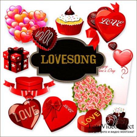 Scrap-kit - Lovesong