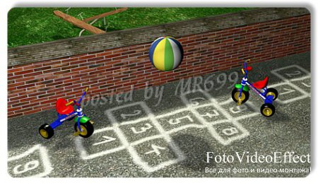 Baby footages:  Bouncing ball