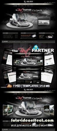 The Best Partner Templates PSD Nr.165
