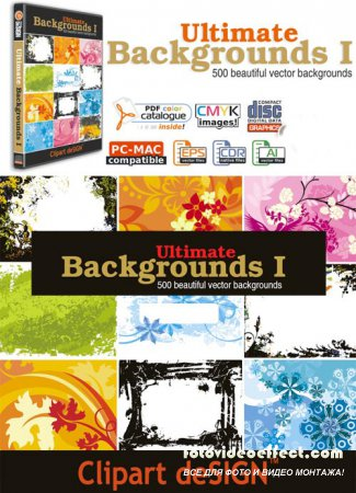 ClipArt Design - Ultimate Backgrounds 1