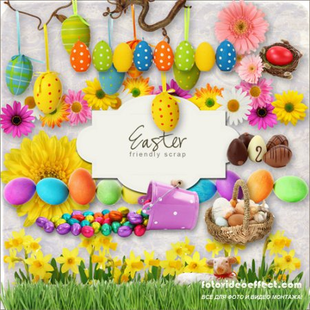 Scrap-kit - Easter