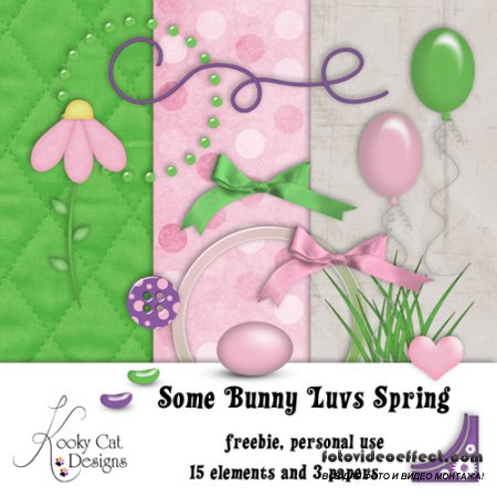 Scrap-set - Some Bunny Luvs Spring
