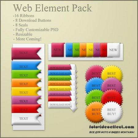 Simple Web Element Pack