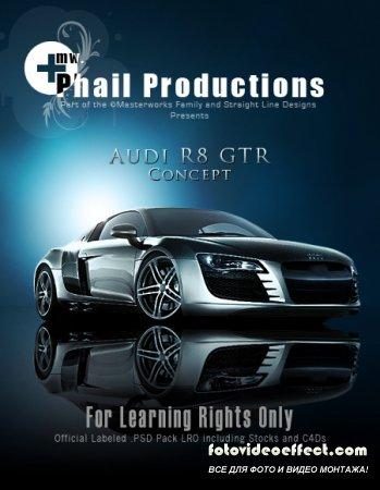 Poster Audi R8 GTR