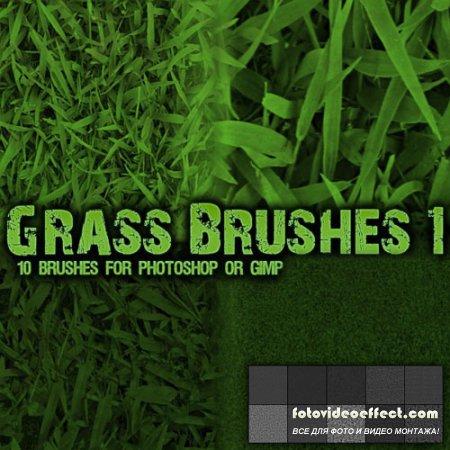 Кисти для Photoshop - Трава (Часть 1)