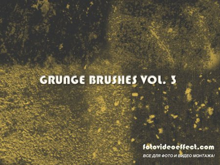 Grunge Brushes for Photoshop Vol. 3