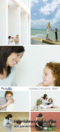 PhotoAlto PA477 Sharing Thoughts