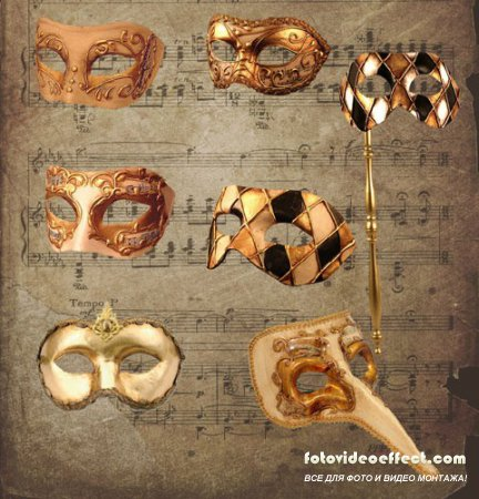 Music Themed Masks Pack