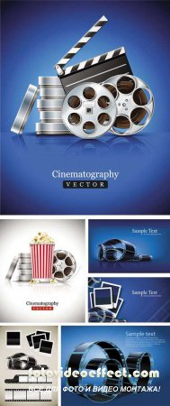 Cinema Vector Backgrounds
