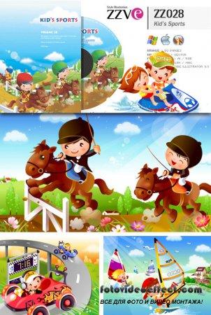 ZZVe 028 Kid's Sports