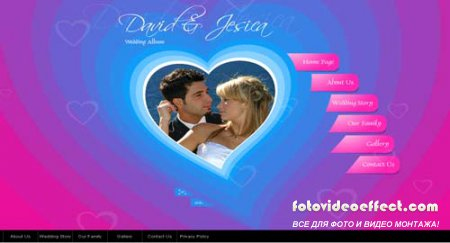 "SimaVera - Easy flash templates (Incl FLA) - ""Wedding Album"" - Rip"