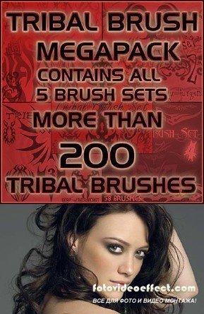 Tribal Brushes Megapack