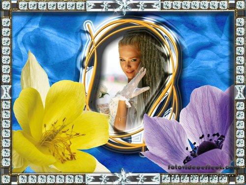 Фоторамка - Весенние цветы