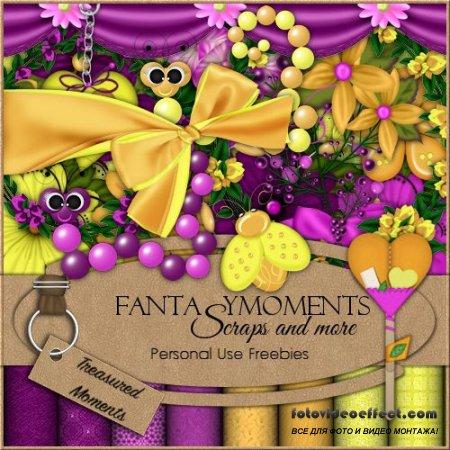 Скрап-набор - Fantasy moments: Treasured Moments
