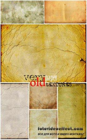 Текстуры - Очень старая бумага