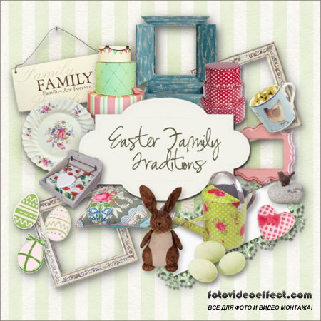 Scrap-set - Easter Family Traditions
