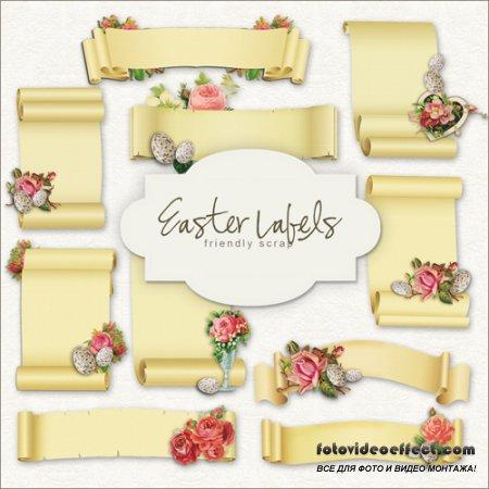 Scrap-kit - Easter Lables