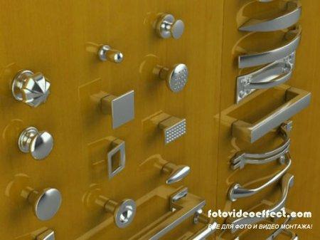 36 моделей дверных ручек