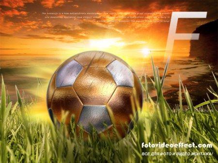 PSD Source - Gold Football