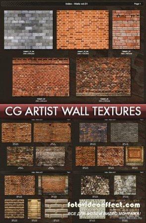 Seamless Textures on walls CG Artist