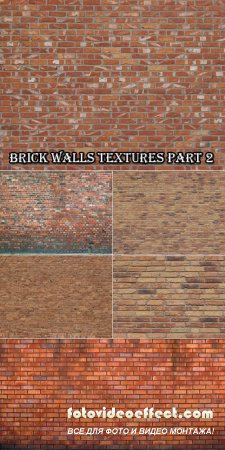 Текстуры - Фоны кирпичных стен (Часть 2)