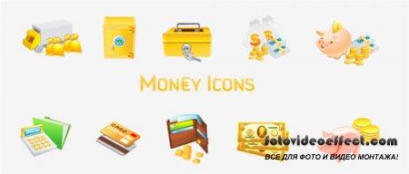 Money Vector Icons