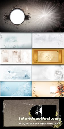 Art beauty photo template water