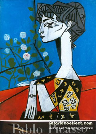 Пабло Пикассо. Портреты Жаклин Рок | 1955-1964 | Pablo Picasso. Portraits of Jacqueline Roque