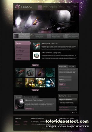 RT Nebulae - May 2011 Joomla Template