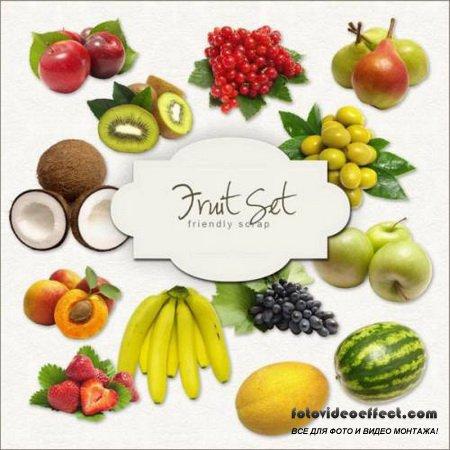 Scrap Set – Fruit Set