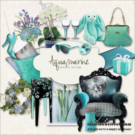 Scrap-kit - Aquamarine