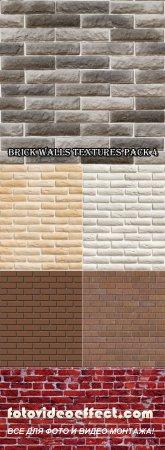 Текстуры - Фоны кирпичных стен (Часть 4)