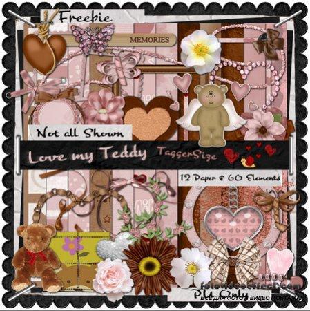 Scrap kit - Love My Teddy