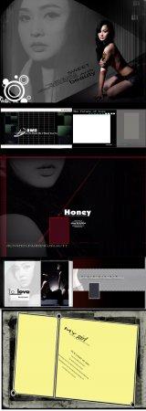 Wei tenderness series of feminine language template Phantom of the Opera photo