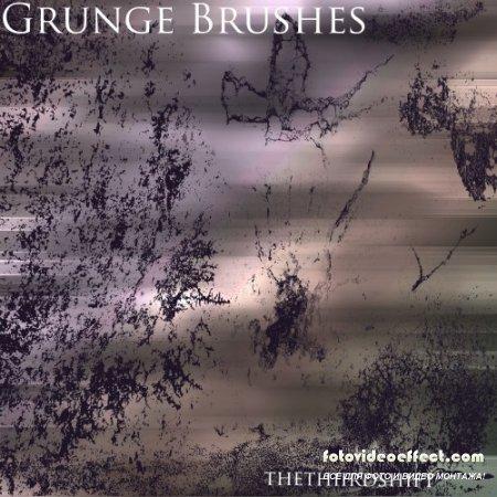 9 Grunge Brushes Pack