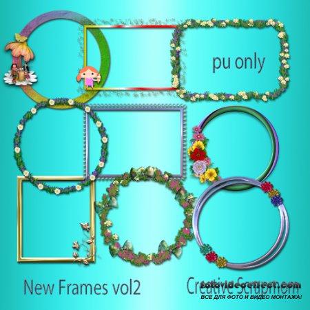 Creative Scrapmom - Cluster Frames Set