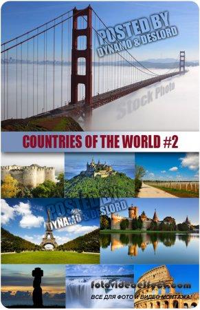 Страны мира 2 - растровый клипарт
